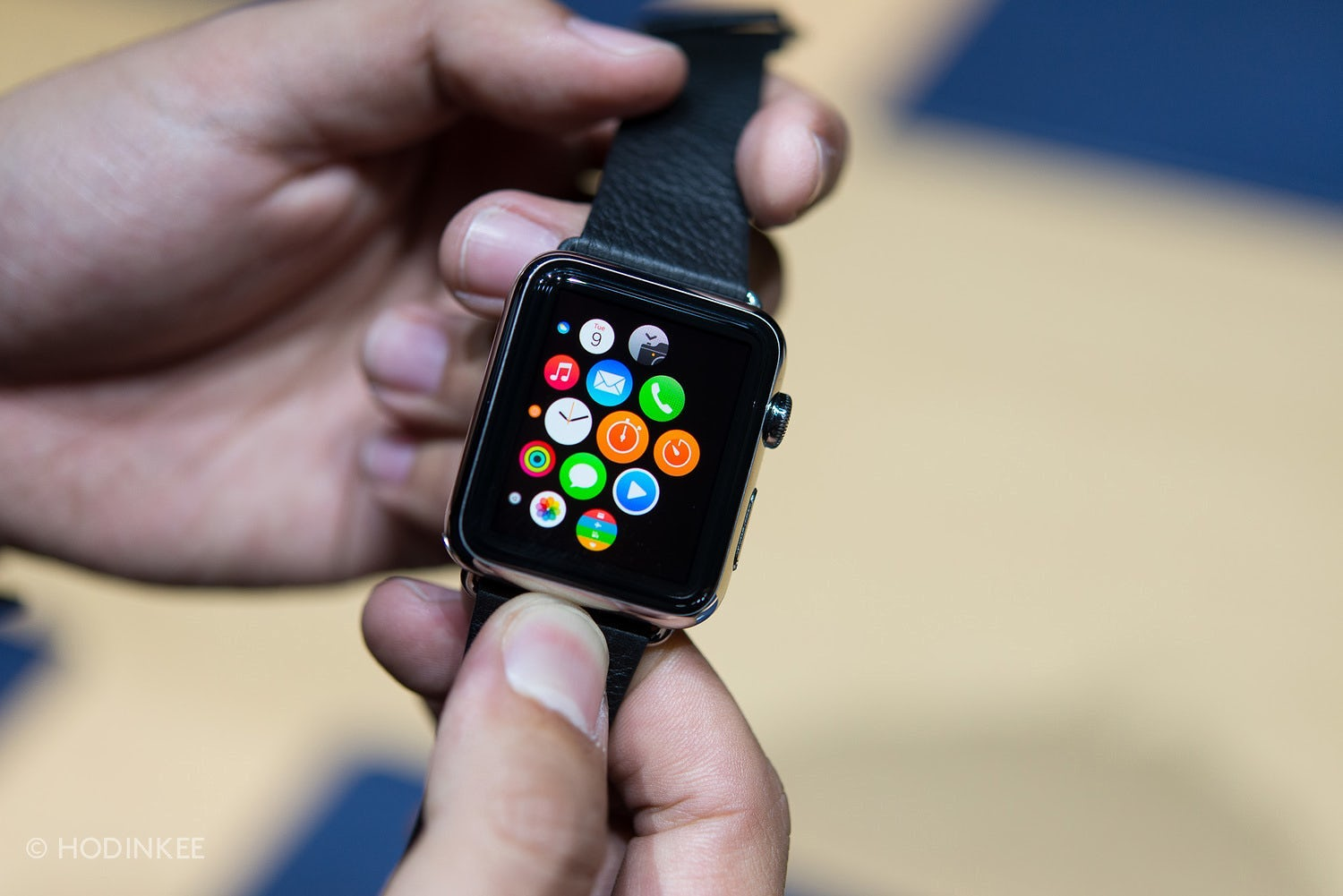 Apple Watch. Sursa: Hodinkee